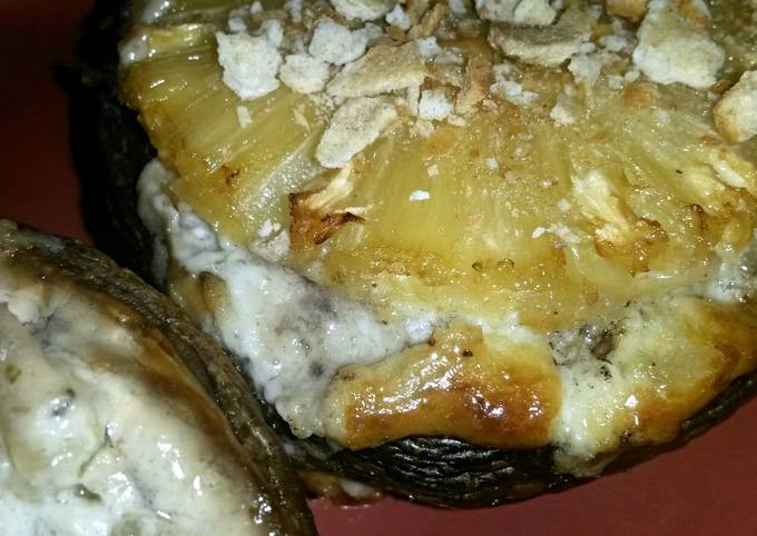 Sig's Blue Cheese and Pineapple Mushroom Cup