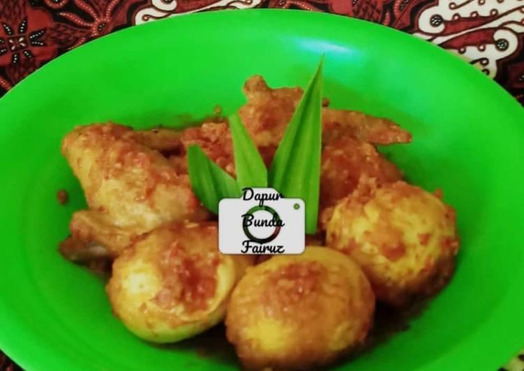 """Balado Ayam Telur """"Kunyit Lada"""""""