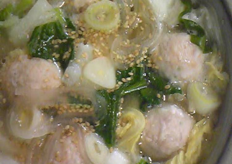 Recipe of Any-night-of-the-week Easy Salt Broth Chanko Hot Pot with Weipa
