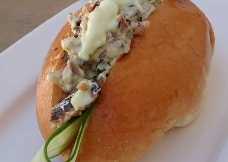 Recipe of Most Popular Sardine In Wasabi Mayonnaise Bun