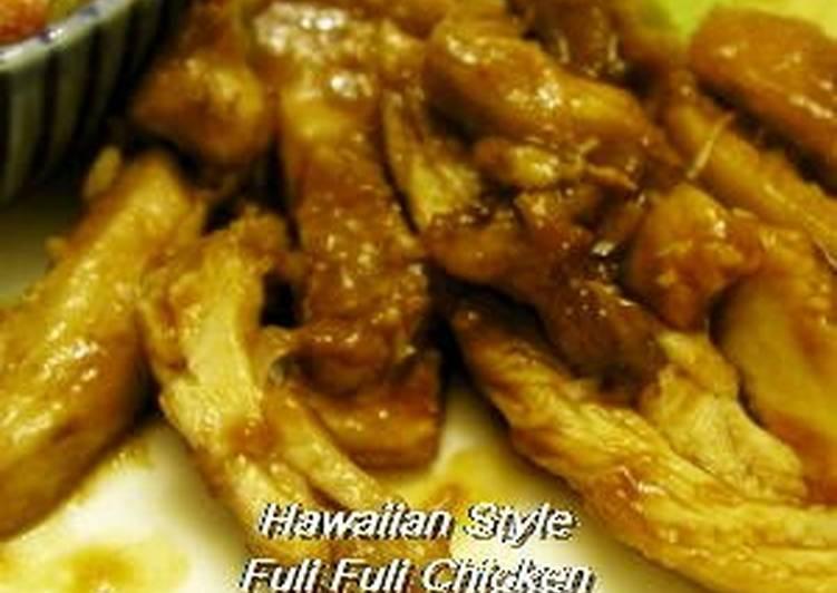 Simple Way to Prepare Award-winning Hawaiian-Style Huli Huli Chicken
