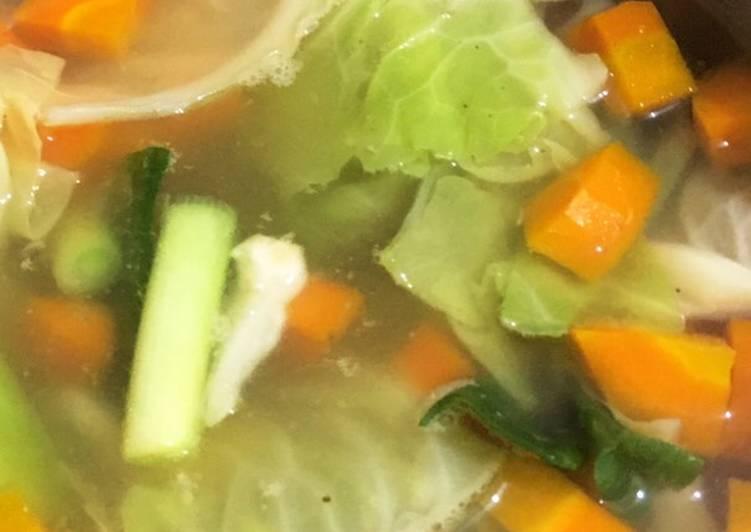 Resep Sayur Sop Bening Clear Sup Tanpa Ayam Oleh Farah Ayu D Cookpad