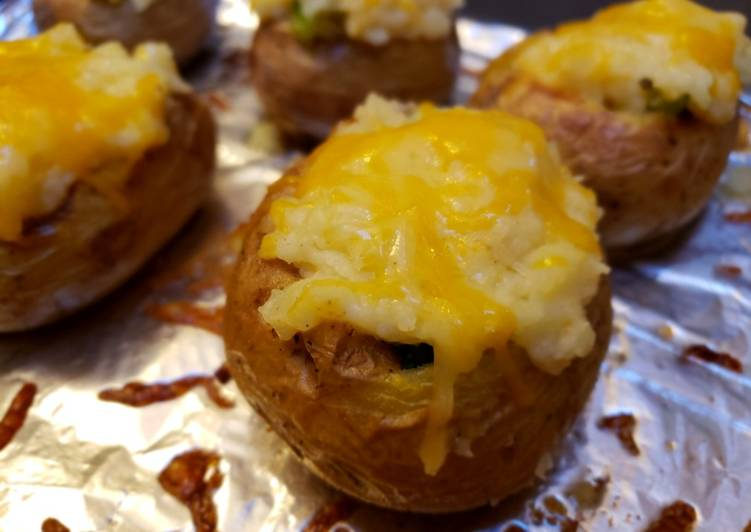 Recipe: Perfect Stuffed Baked Potatoes