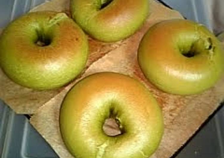 Recipe of Favorite Matcha Bagels