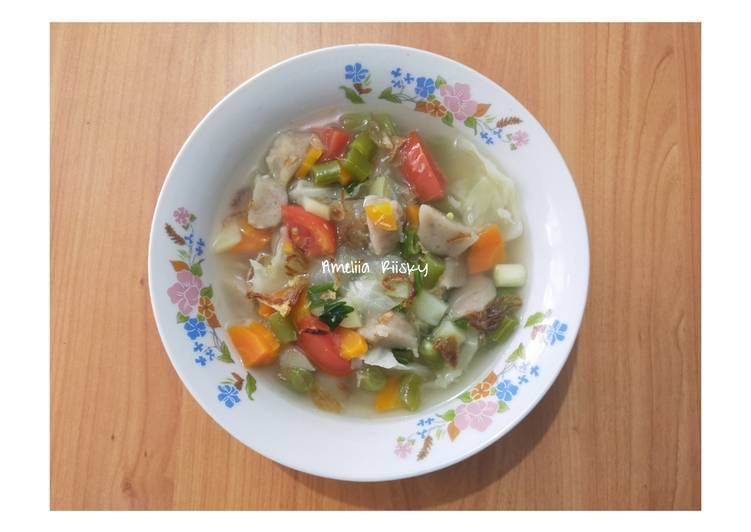 Resep Sup Bakso Sapi, Bikin Ngiler