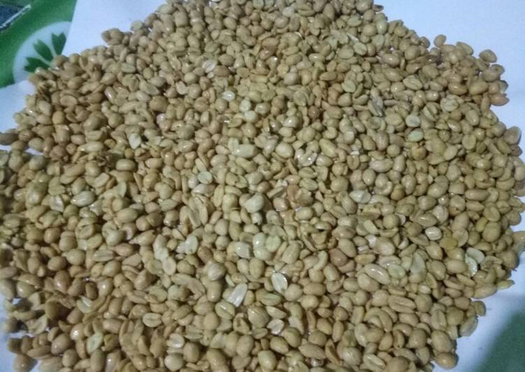 Kacang bawang renyah tanpa santan