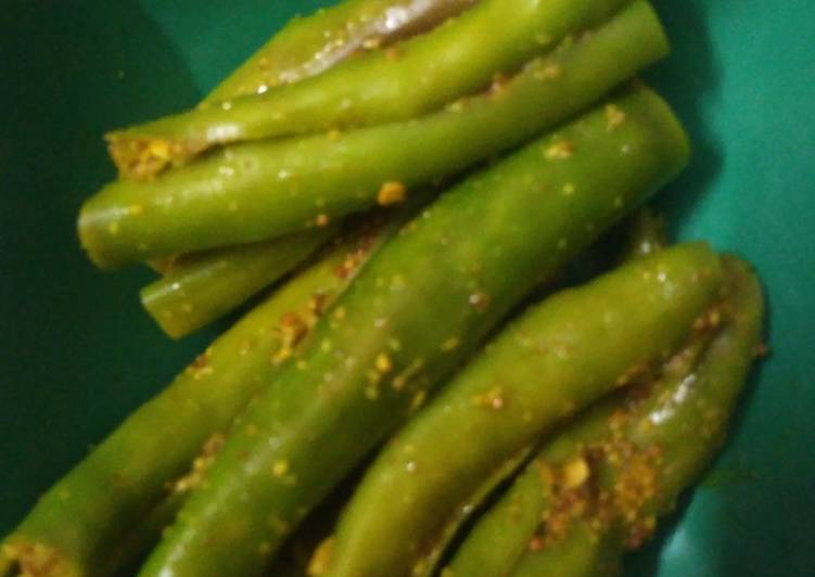 How to Prepare Most Popular Green Chilli Pickle Without oil