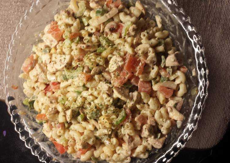 How to Prepare Quick Vegetables macaroni salad
