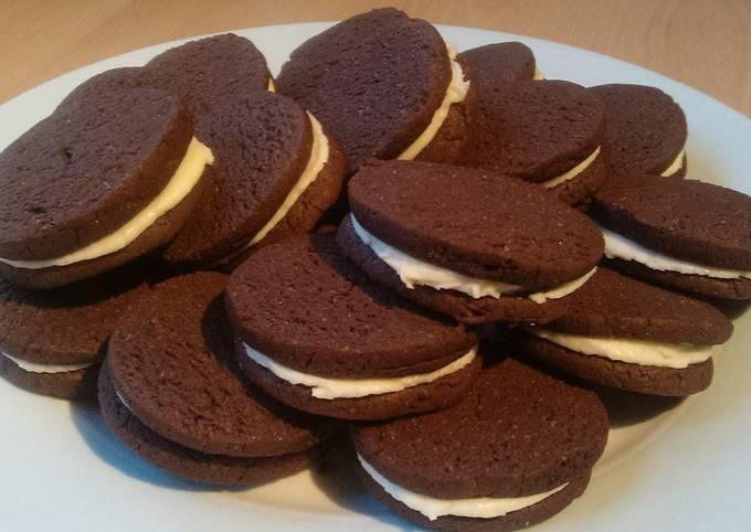 Recipe: Delicious Vickys Oreo Cookies, GF DF EF SF NF
