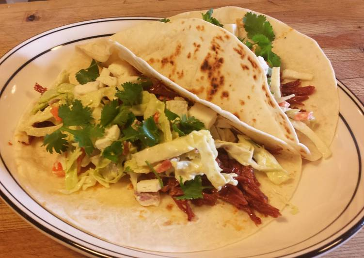 Spicy Corned Beef Tacos with an Avocado Dressing Coleslaw, Some Foods That Are Good For Your Heart