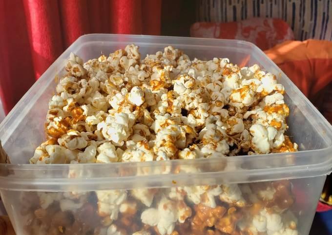 Recipe: Delicious Caramel popcorn