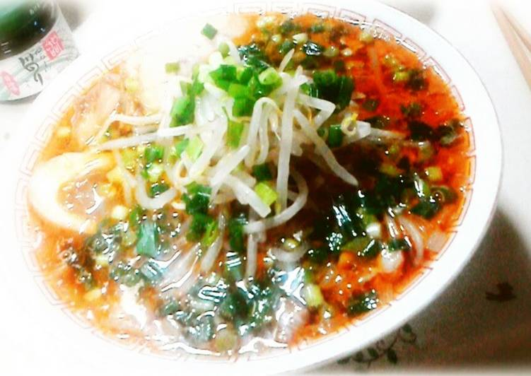Easiest Way to Prepare Super Quick Homemade Delicious Miso Ramen