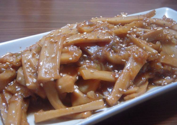 Recipe of Favorite Delicious Bamboo Shoots in Just 10 Minutes