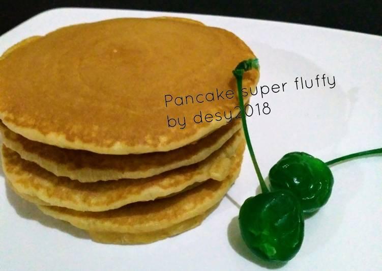 Resep Pancake Super Fluffy #BikinRamadhanBerkesan Bikin Jadi Laper