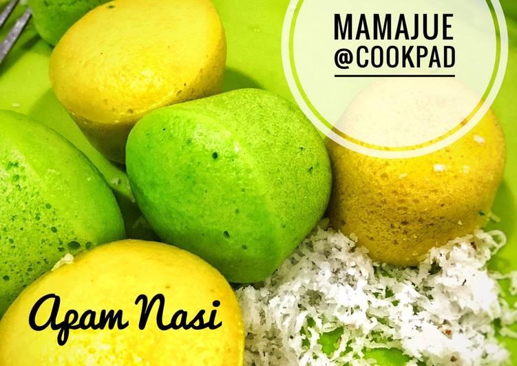 Apam Nasi - resepipouler.com