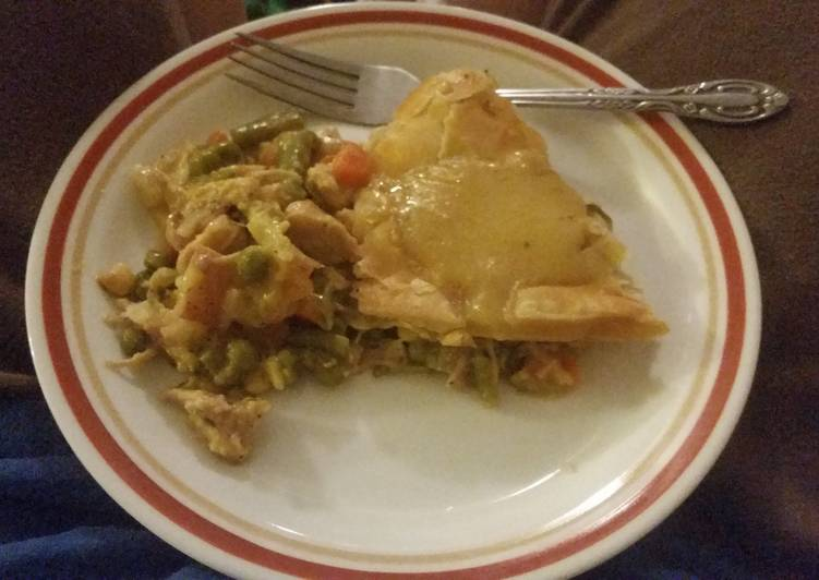 Recipe of Any-night-of-the-week Leftover turkey Pot Pie