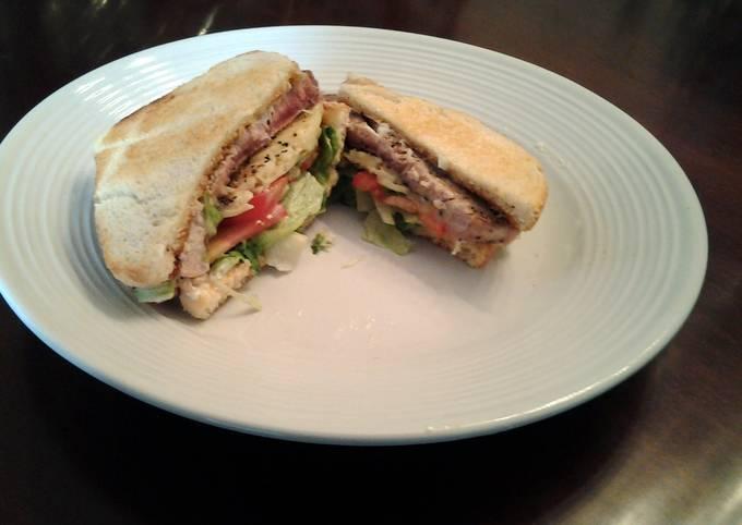 Fresh Tuna Melt Sandwich