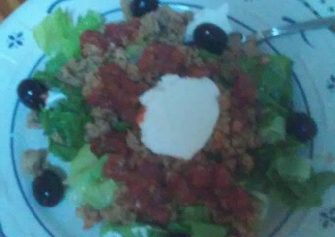 Recipe: Appetizing Grandma's Taco Salad
