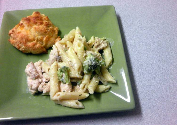 Simple Way to Make Speedy Jr's Chicken Alfredo