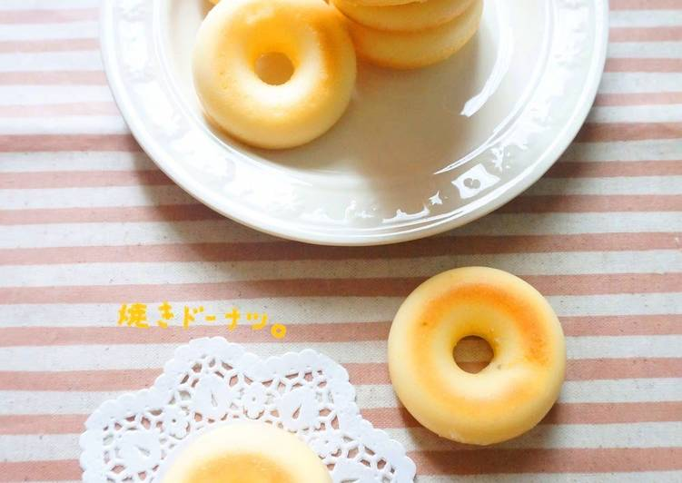 Recipe of Homemade Moist Baked Donuts