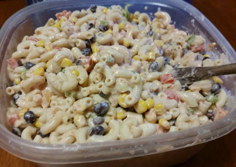 Recipe: Perfect Taco macaroni salad