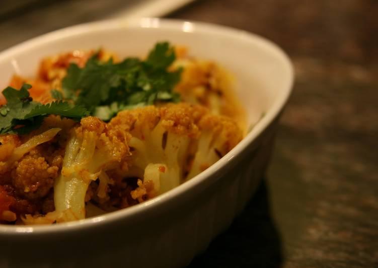 Cauliflower Sabji (Gobi, Waverley Kitchens)