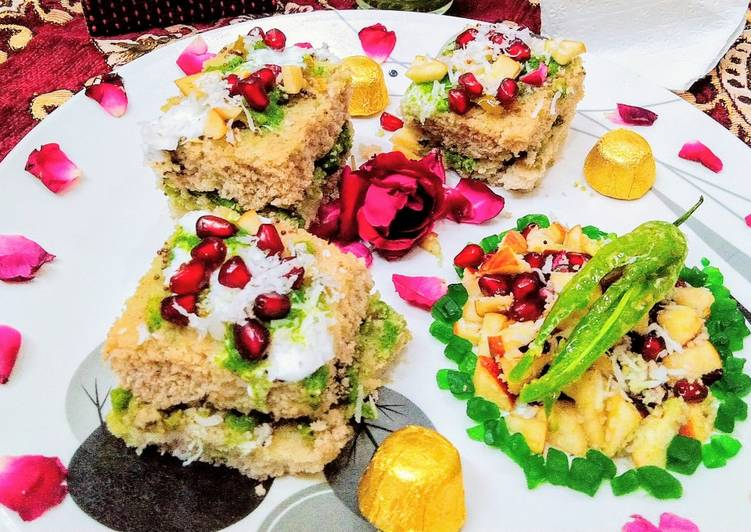 Recipe of Homemade Water chestnuts dhokla