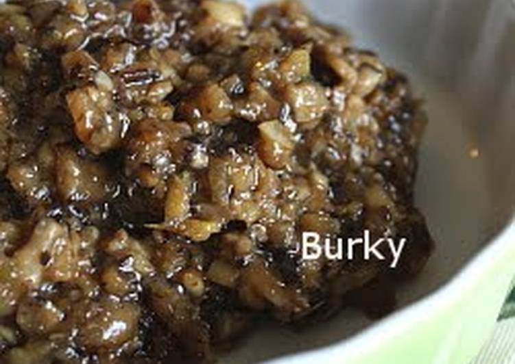 Recipe: Appetizing Versatile Shiitake Mushroom Miso (Meat Miso Substitute)