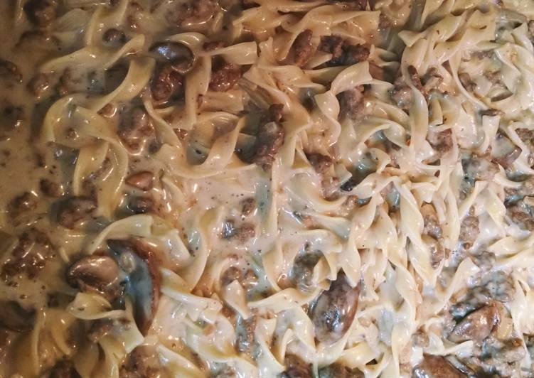Easy Beef Stroganoff, Help Your To Be Healthy And Strong with The Right Foods