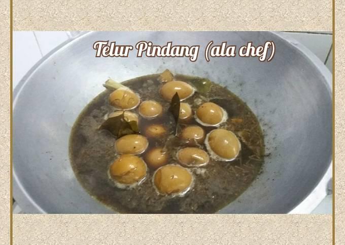 Telur Pindang (ala chef)