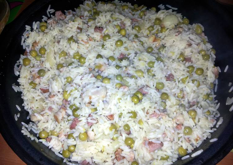 Risi e bisi (Rice and peas)