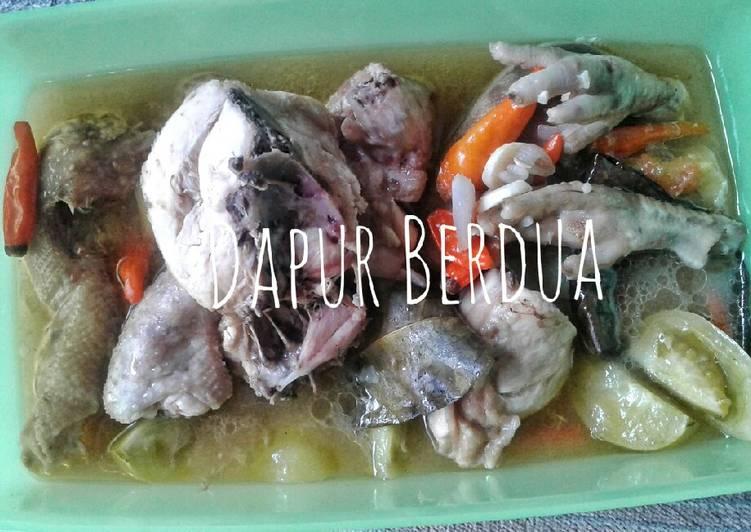 Garang Asem Ayam No Santan