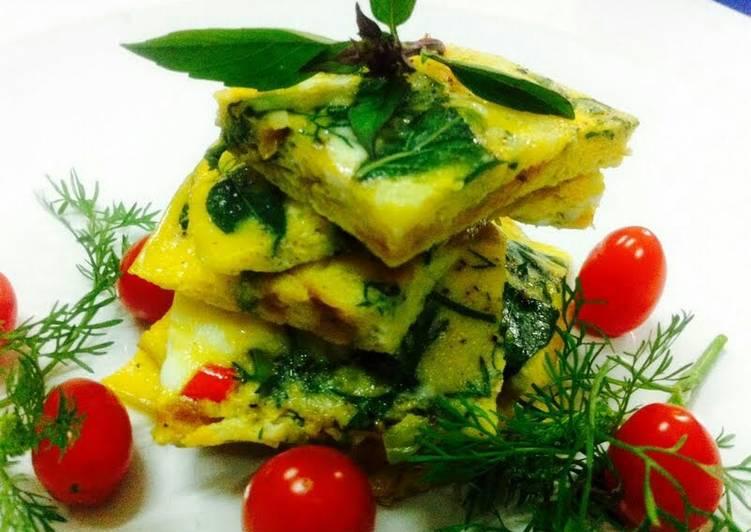 Kanya's Basils Baked Eggs