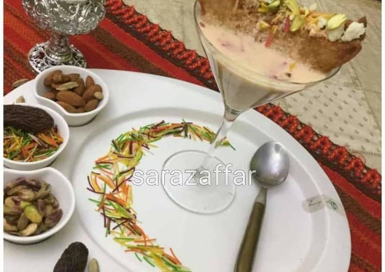 Recipe of Quick Sawyen Shah tukray