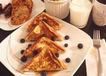 Easiest Way to Prepare Delicious Blueberry Stuffed French Toast