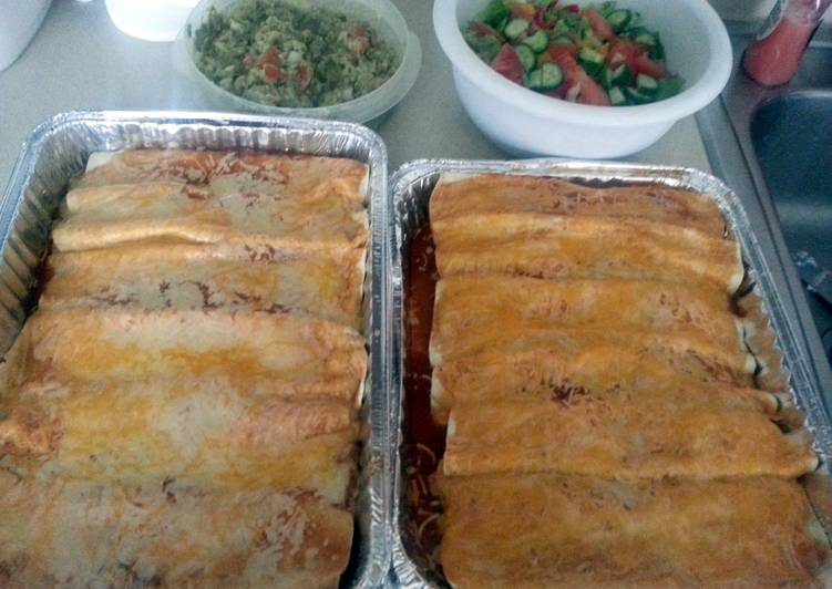 Leftover Bbq Pork Rib Enchiladas, Helping Your Heart with Food