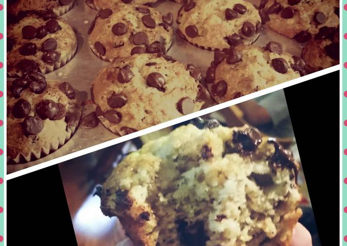 Step-by-Step Guide to Make Gordon Ramsay Chocolate Chip banana muffins