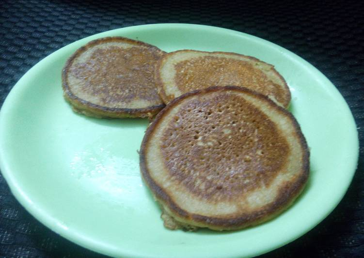 Whole wheat healthy pancakes