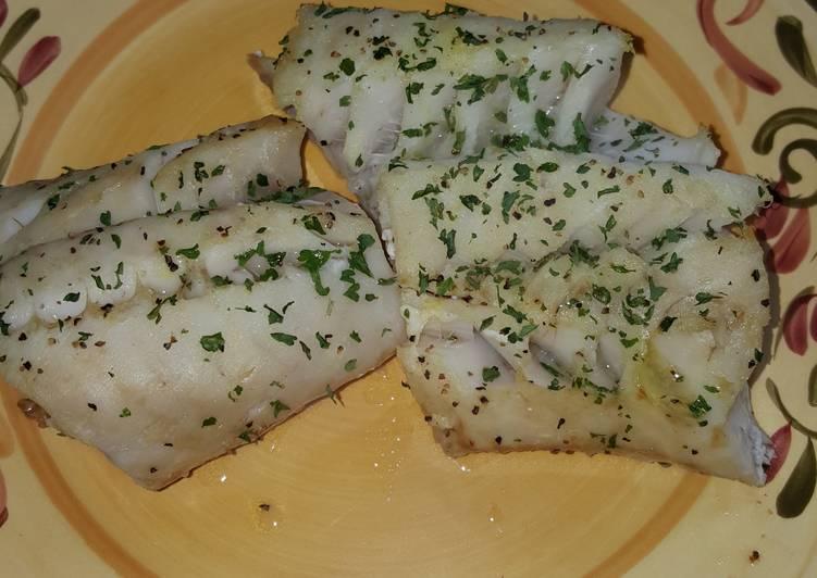 Lemon Pepper Baked Cod