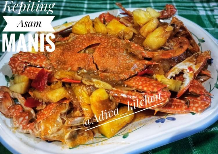 Kepiting Asem Manis - cookandrecipe.com