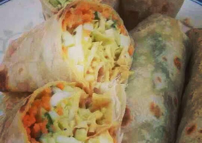 Healthy Burrito For Breakfast