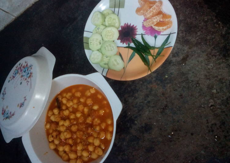 Simple Way to Make Favorite Oilfree chana masala chef ranveer style