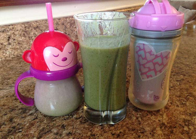How to Prepare Yummy Kid Friendly Spinach Smoothie