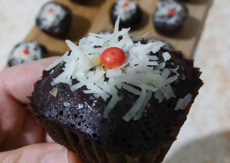 Cupcake brownies kukus