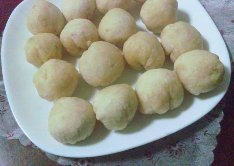 Easy in the Microwave Chewy Okara Dumplings - Laurie G Edwards