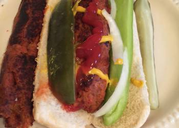 How to Recipe Perfect Vegetarian Hot Dog