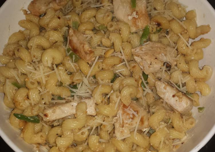 Easiest Way to Prepare Super Quick Homemade Cashew butter pasta with chicken