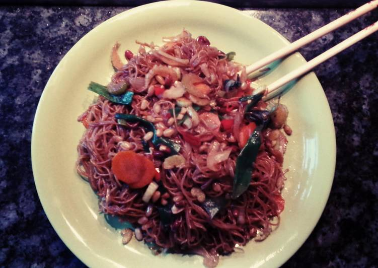 Spicy Fried Noodles - Cantonese style