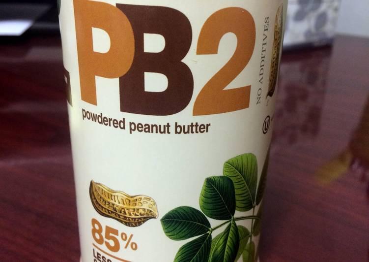 PB Dark Chocolate Shake