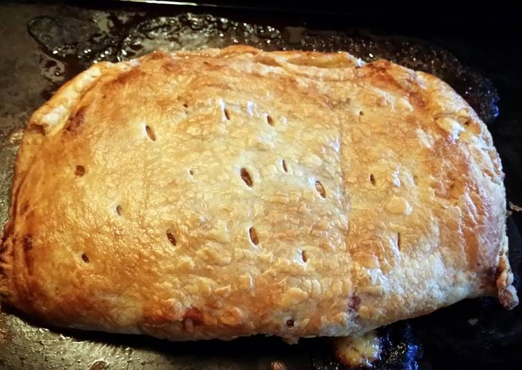 Recipe of Super Quick Homemade Ham and cheese puff pastry